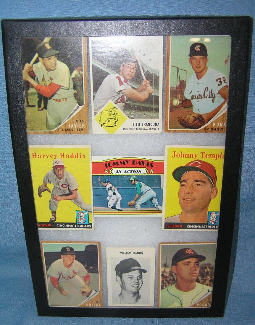 Group of early baseball cards