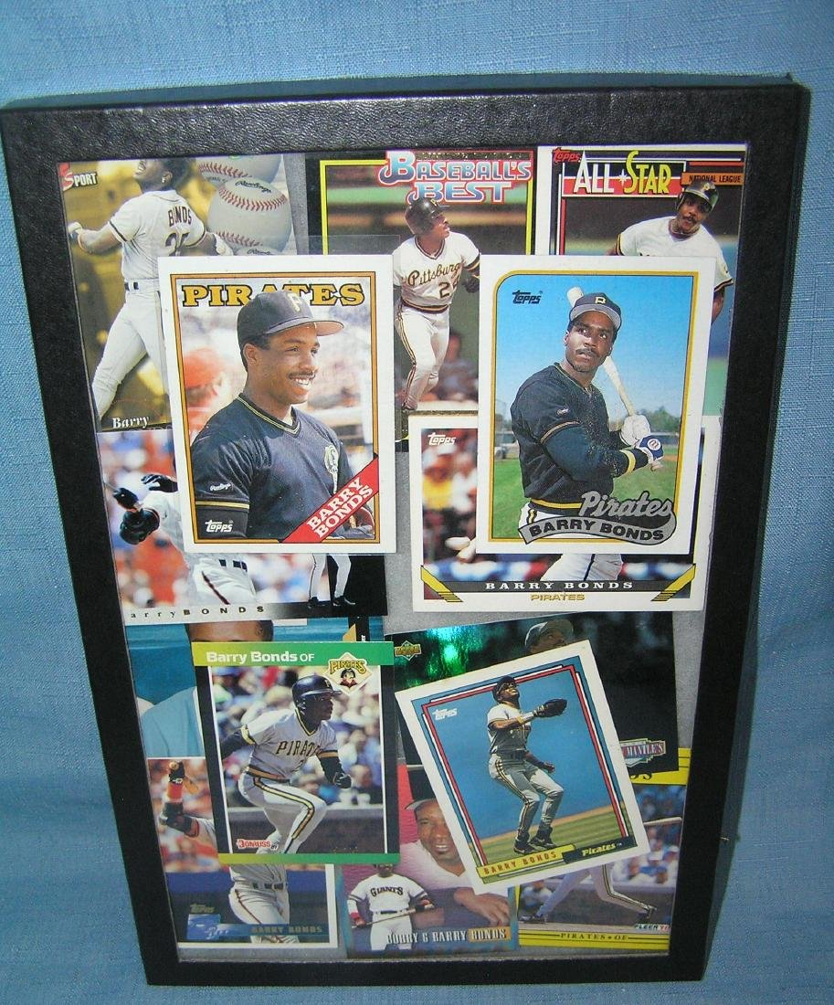Group of vintage Barry Bonds all star baseball cards