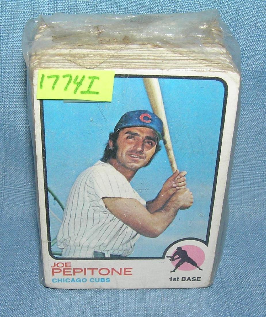 Group of 100 1973 Topps baseball cards