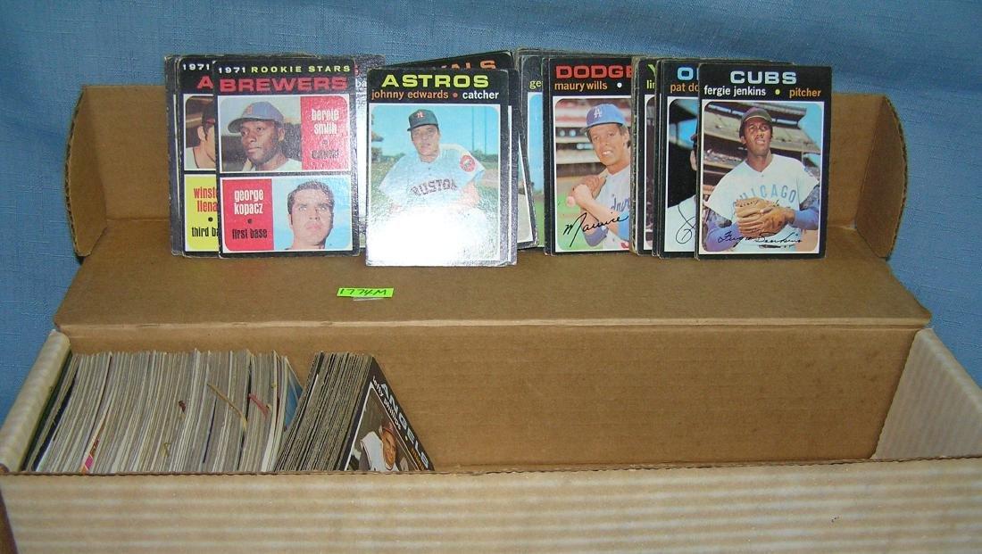 Box of vintage baseball cards - 2