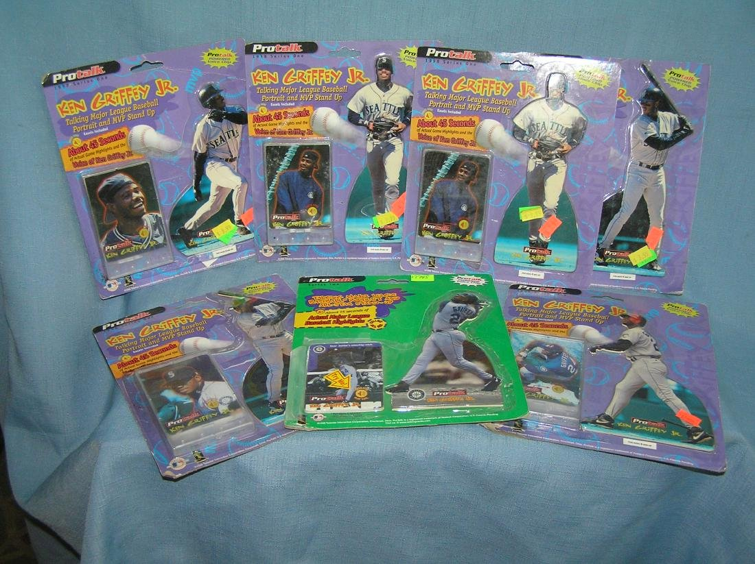 Ken Griffey Jr. photo card & stand up figure group