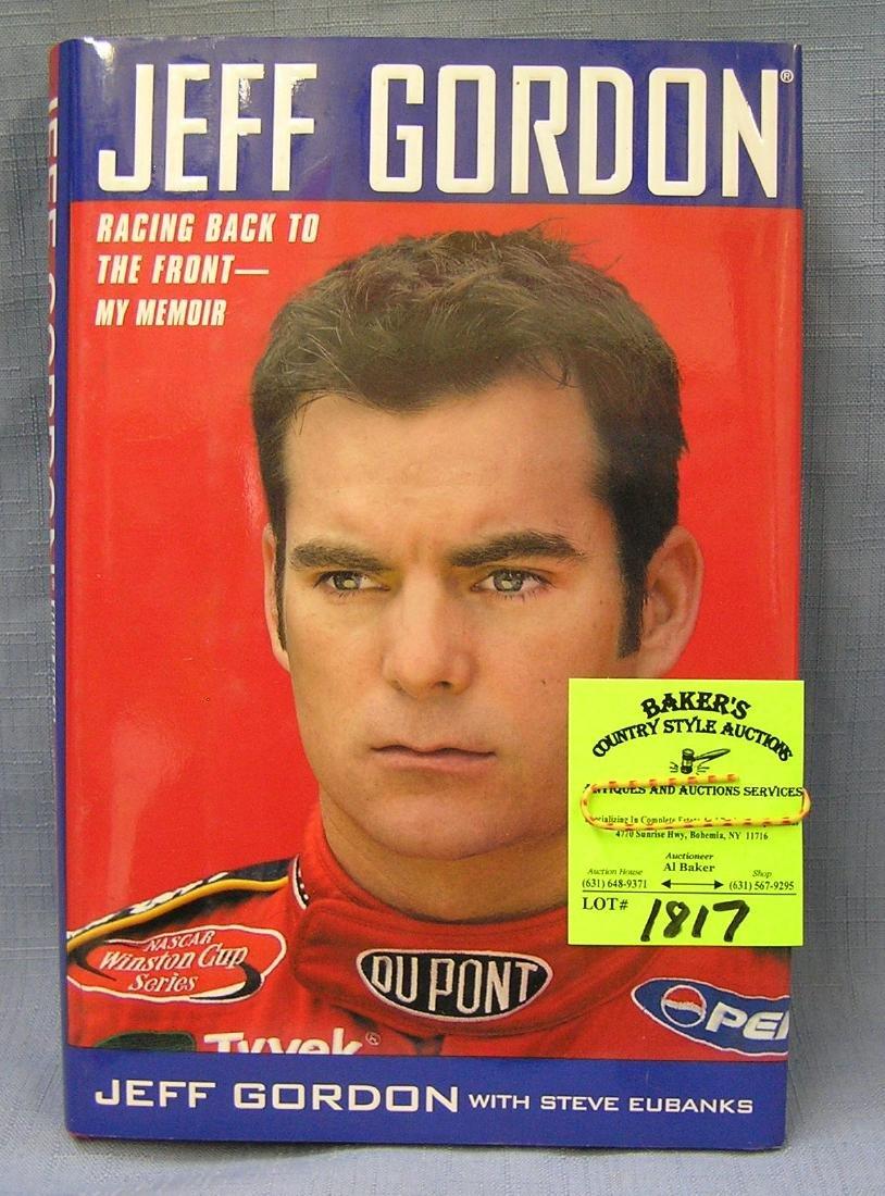 Vintage Jeff Gordon hardcover book