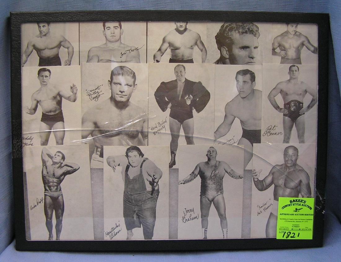 Early wrestling penny arcade sports cards