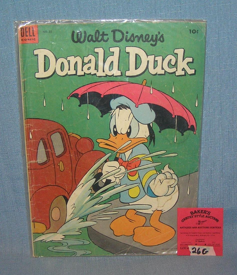 Early Donald Duck 10 cent comic book