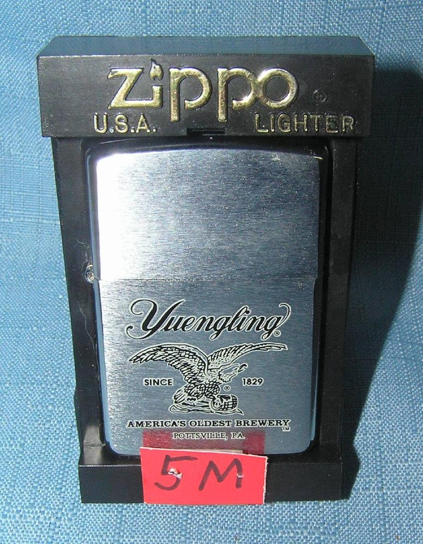 Yeungling beer advertising Zippo cigarette lighter