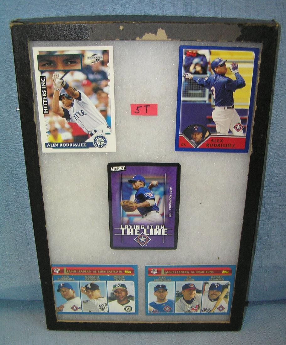 Vintage Alex Rodriguez all star baseball cards