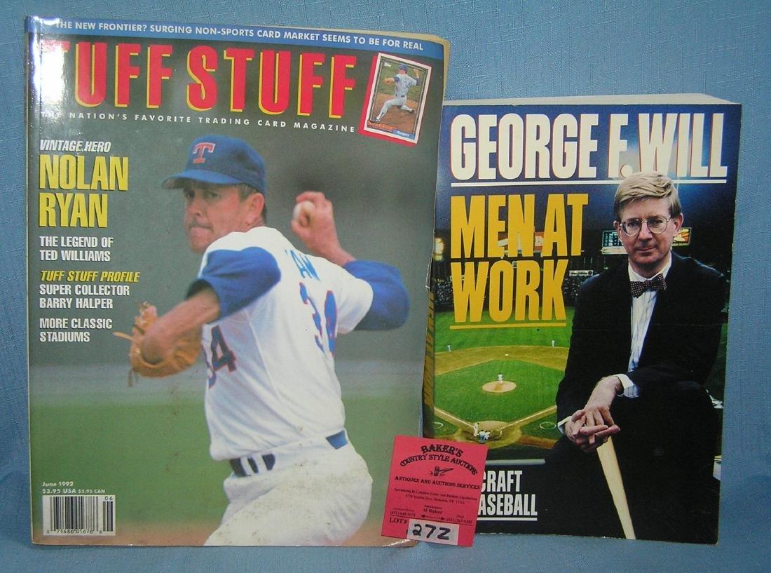 Pair of baseball sports books