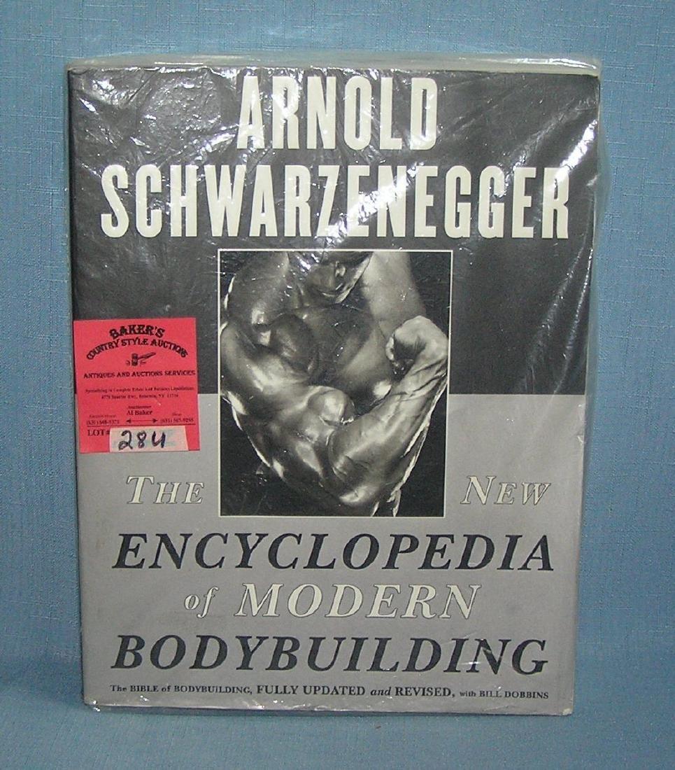 A. Schwarzenegger encyclopedia of mod. body building