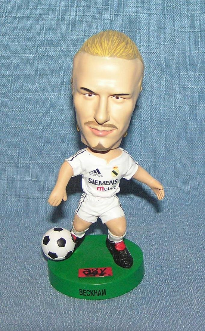 David Beckham soccer star bobble head doll