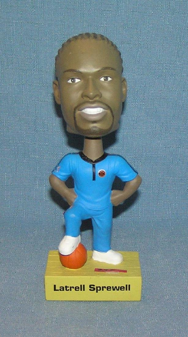 Latrell Sprewell basket ball star bobble head doll