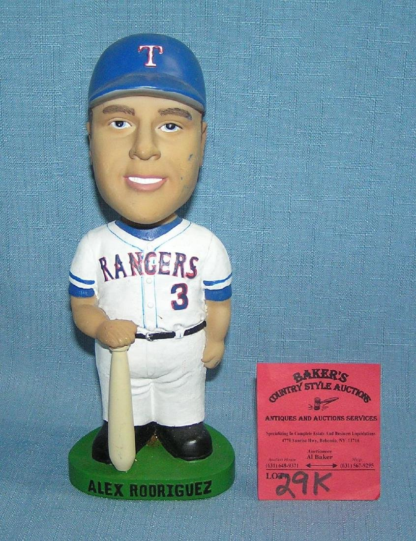 Texas Rangers Alex Rodriguez bobble head doll