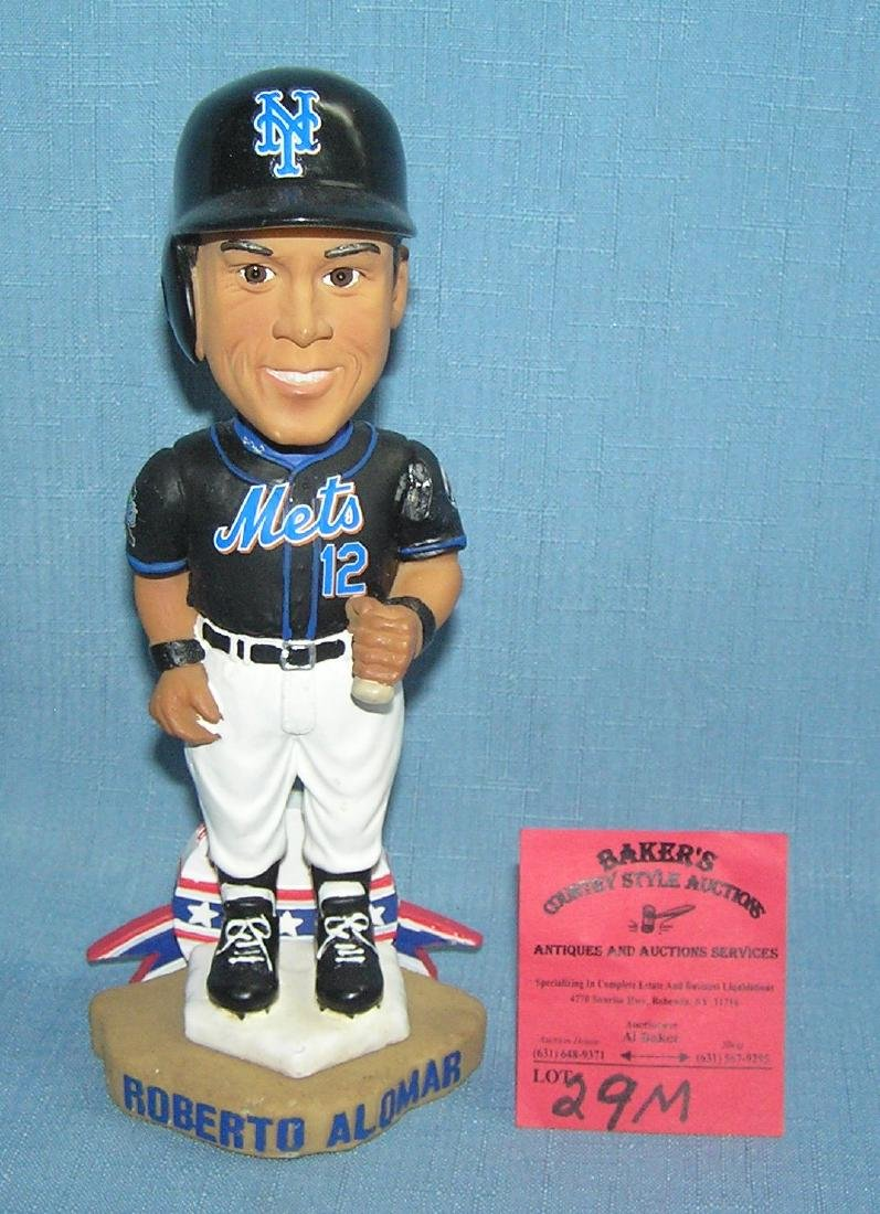 NY Mets Roberto Alomar bobble head doll