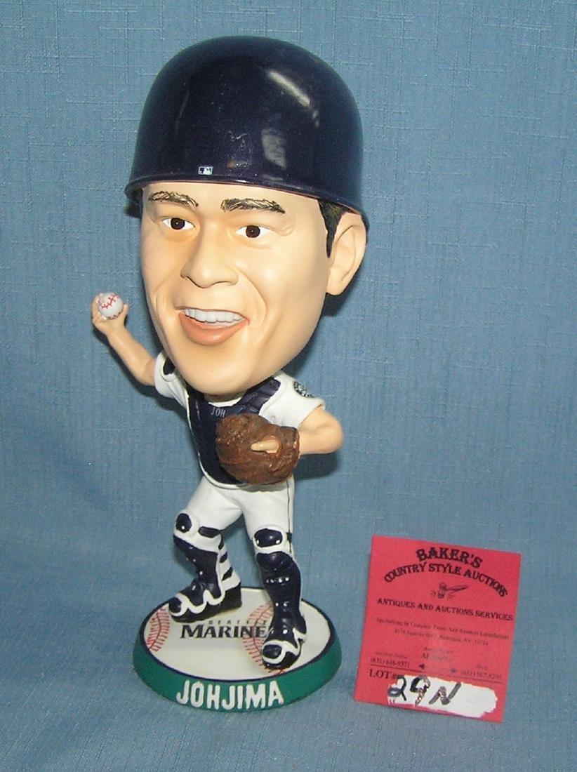 Seattle Mariners Kenji Johjima bobble head doll