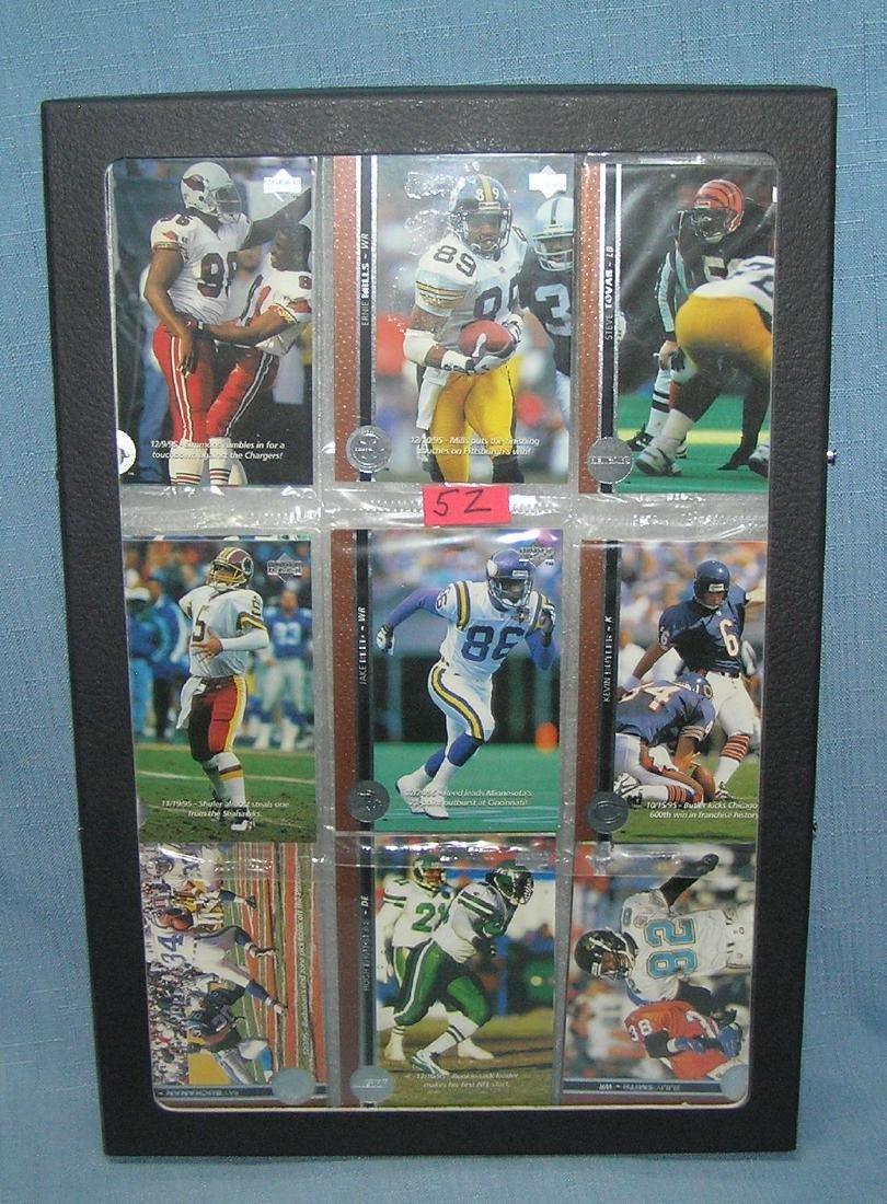 Group of vintage unopened football packs
