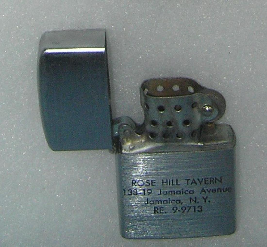 Collection of vintage lighters includes Zippo - 3