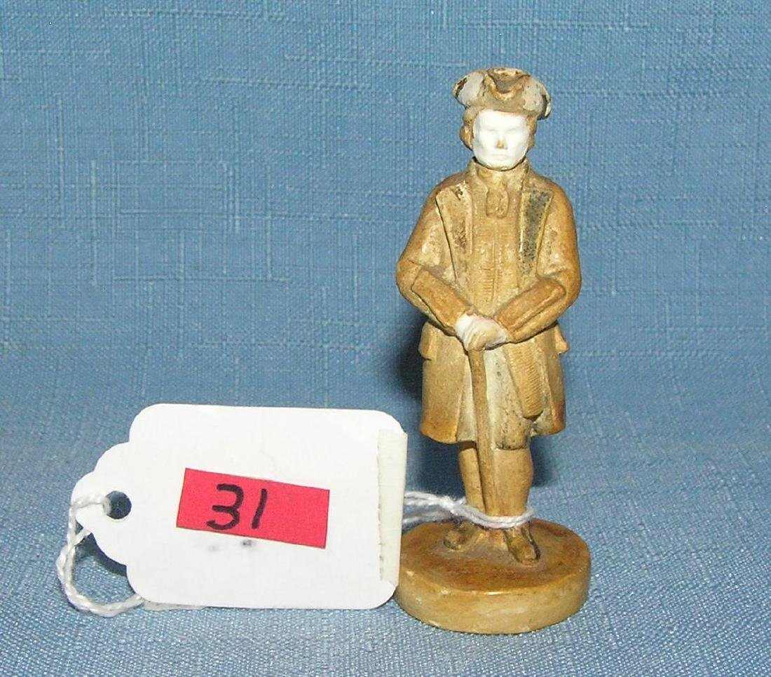 Revolutionary War style figure by P. W. Bastone