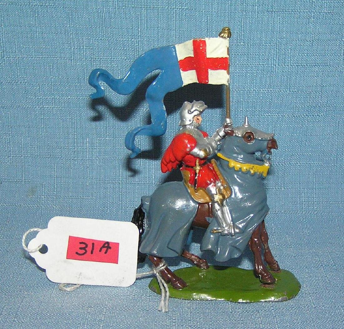 Britains hand painted Knights of Agin Court figure
