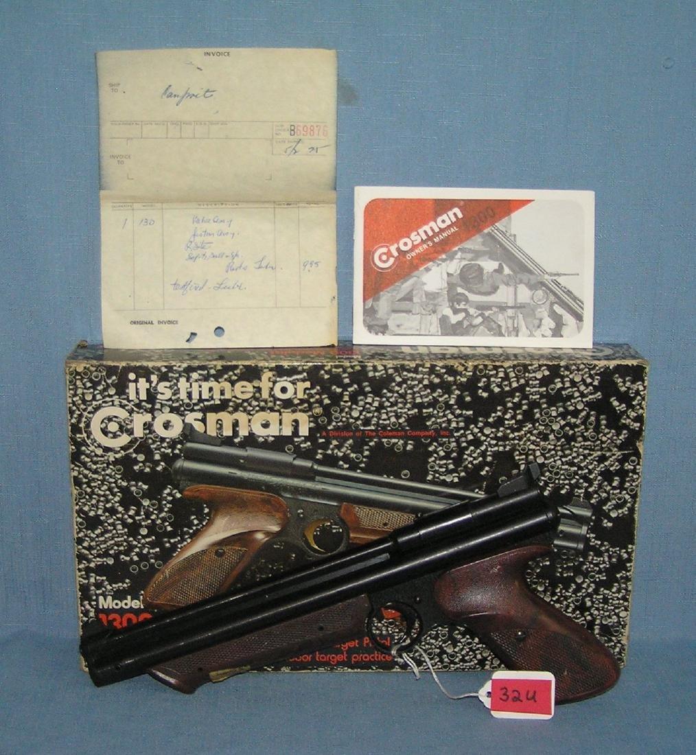 Vintage Crossman model No.1300 medalist pellet gun