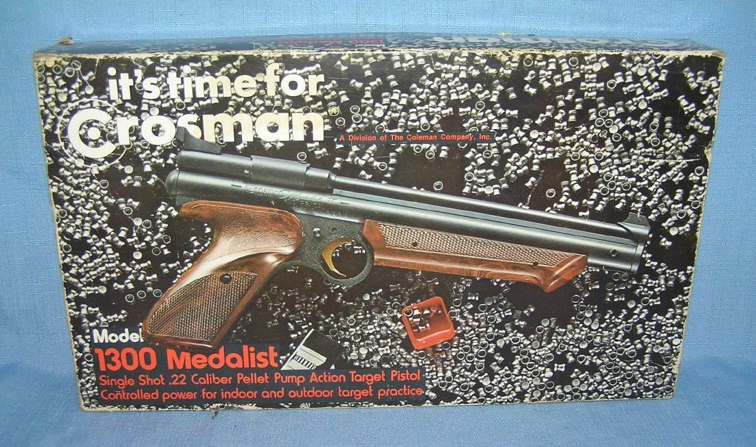Vintage Crossman model No.1300 medalist pellet gun - 2