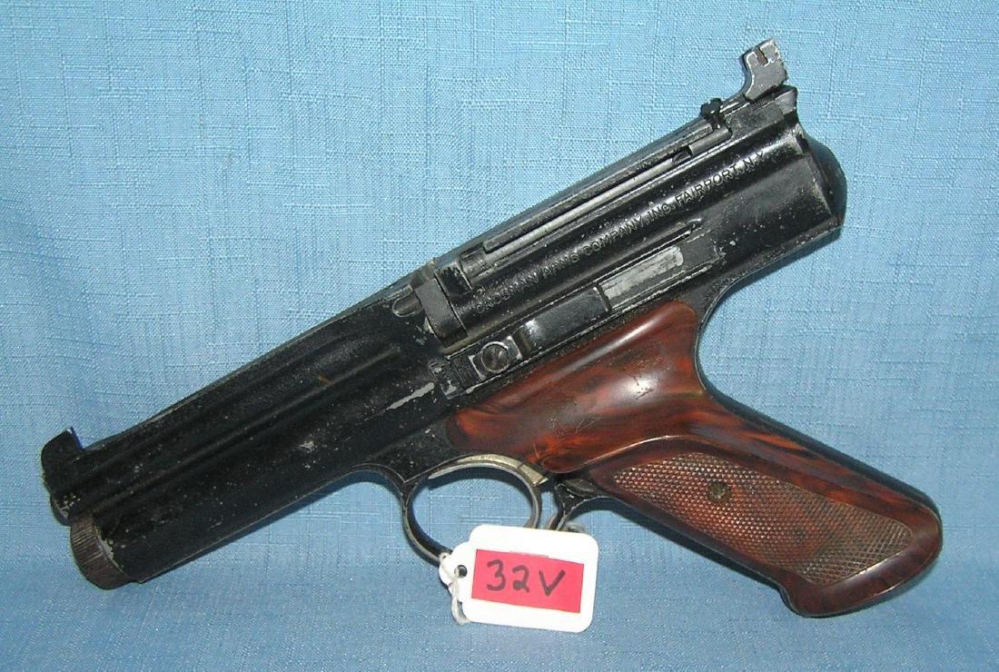 Vintage Crossman pellet gun circa 1960's