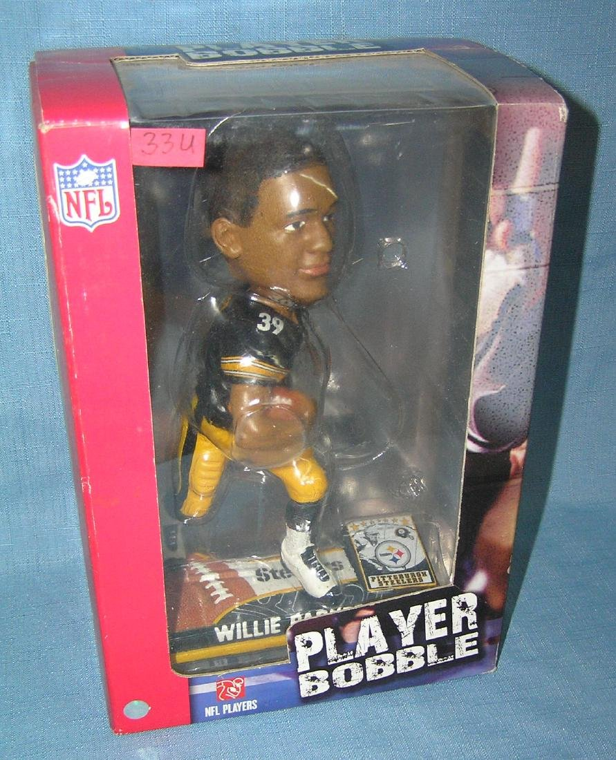 Pittsburgh Steelers Willie Parker bobble head doll