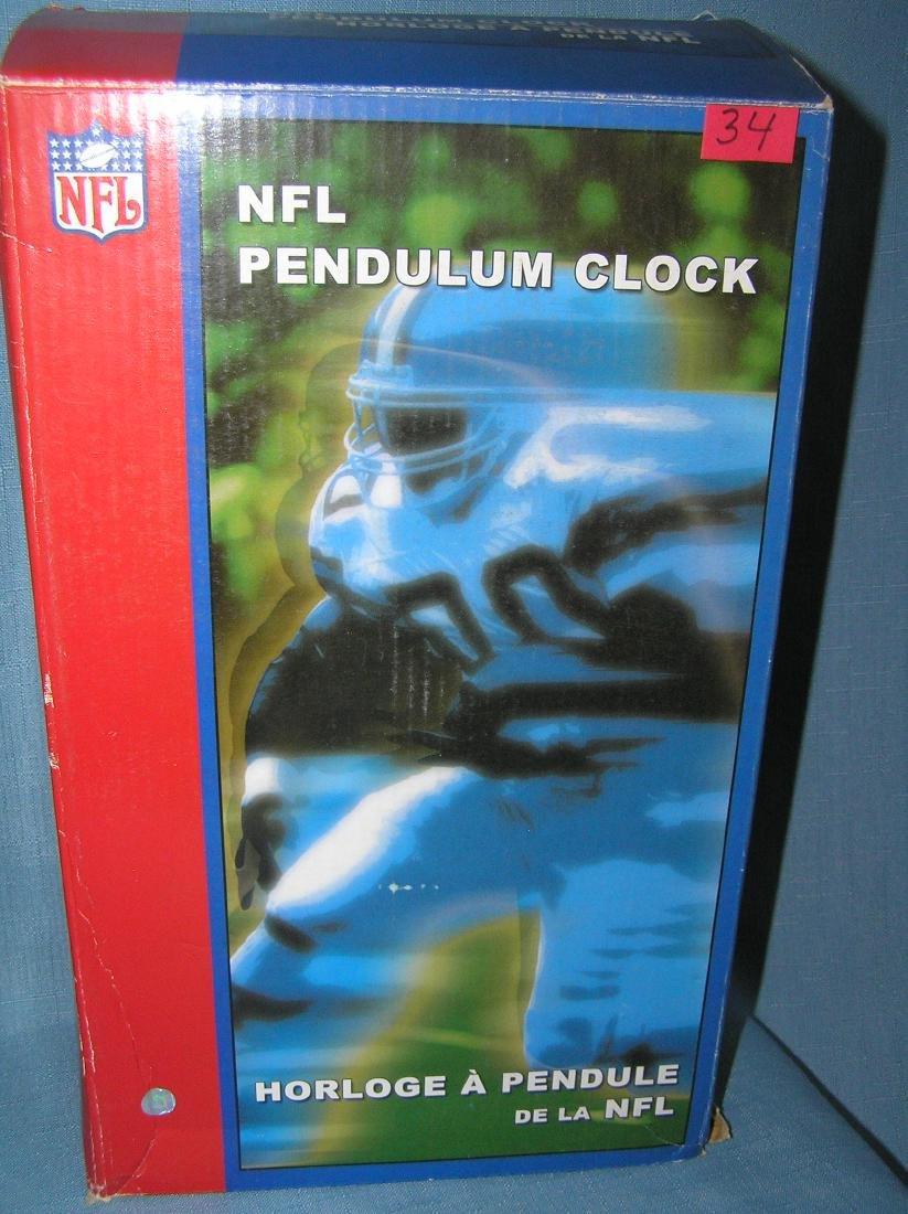 NFL football pendulum clock - 3