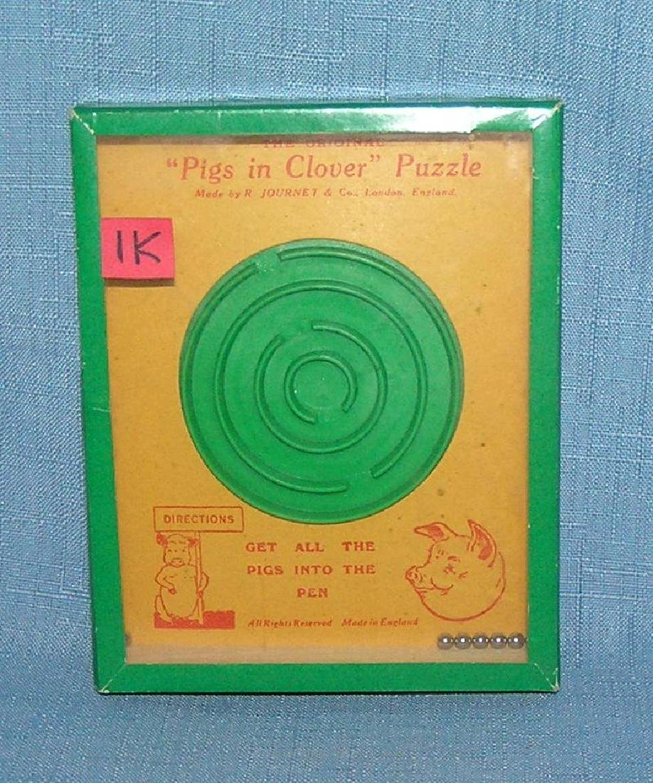 Pigs in the Clover dexterity toy