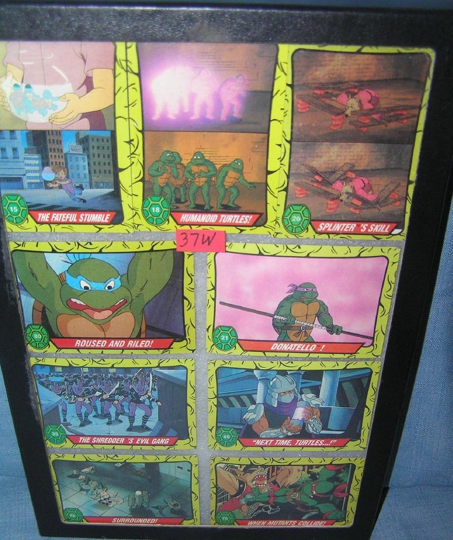 Teenage Mutant Ninja turtles collector cards
