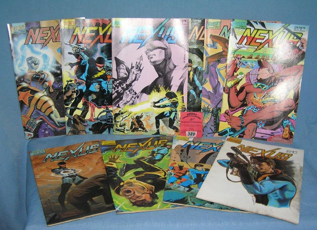 Group of vintage Nexus comic books