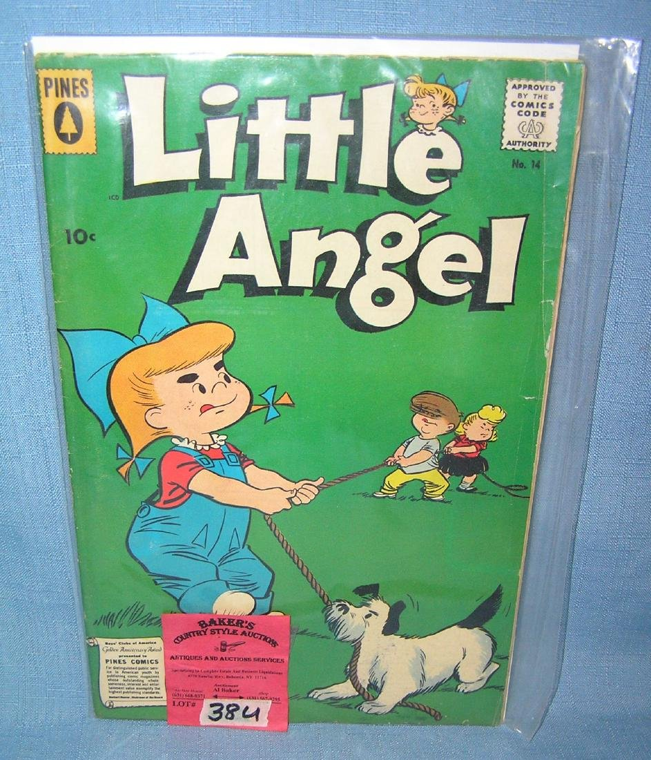 Early Little Angel comic book with 10 cent cover price