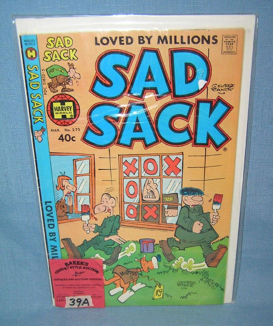 Early Sad Sack comic book