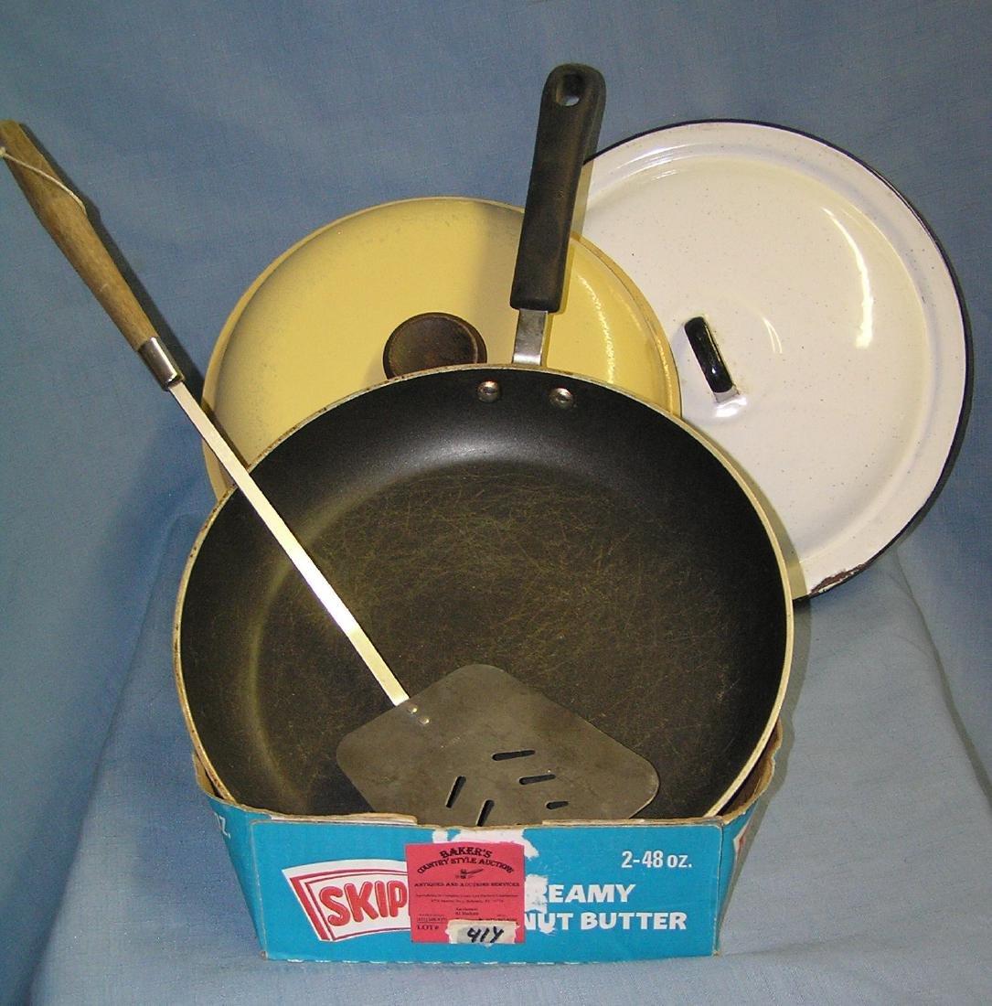 Box full of kitchenwares