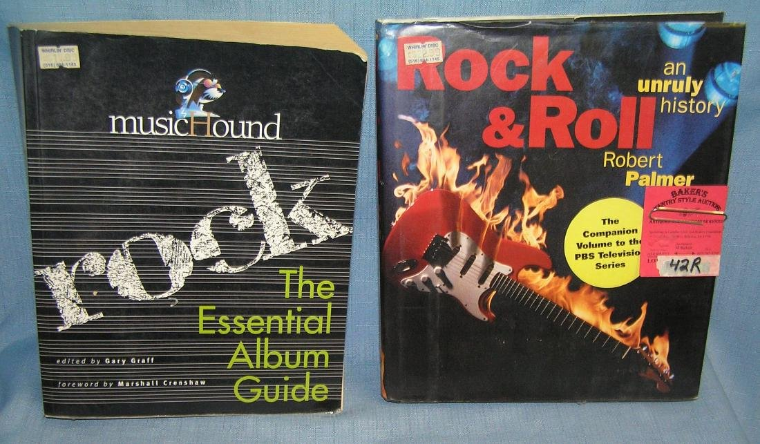 Pair of vintage Rock and Roll books