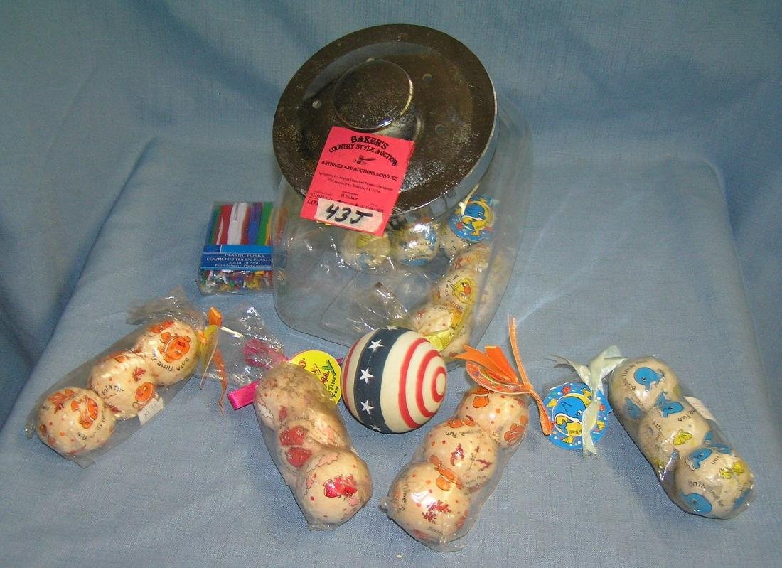 Country store style candy/gift container