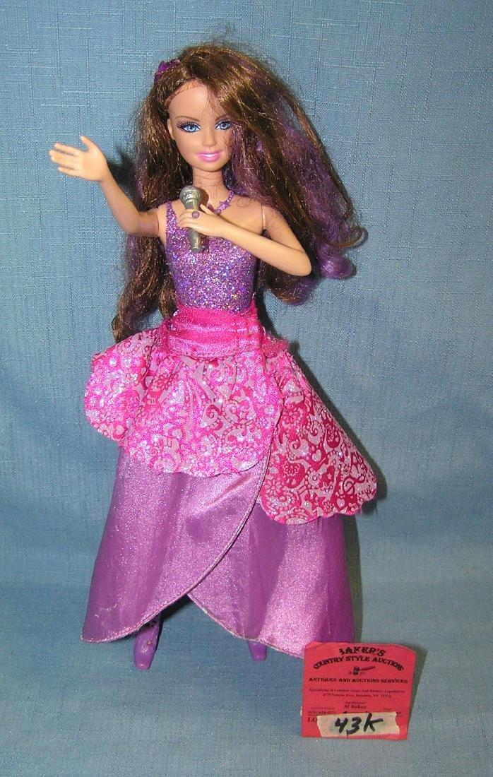 Vintage singing Barbie doll