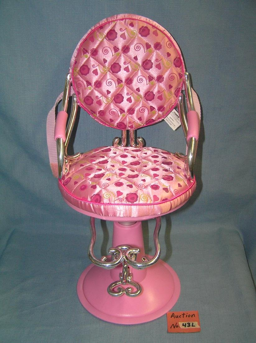 Barbie style beauty chair