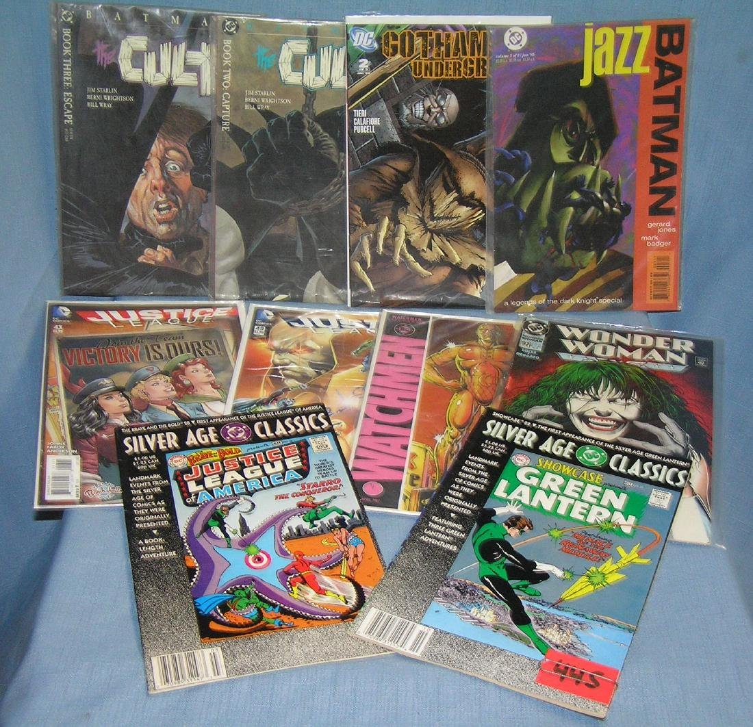 Group of vintage comic books some first editions