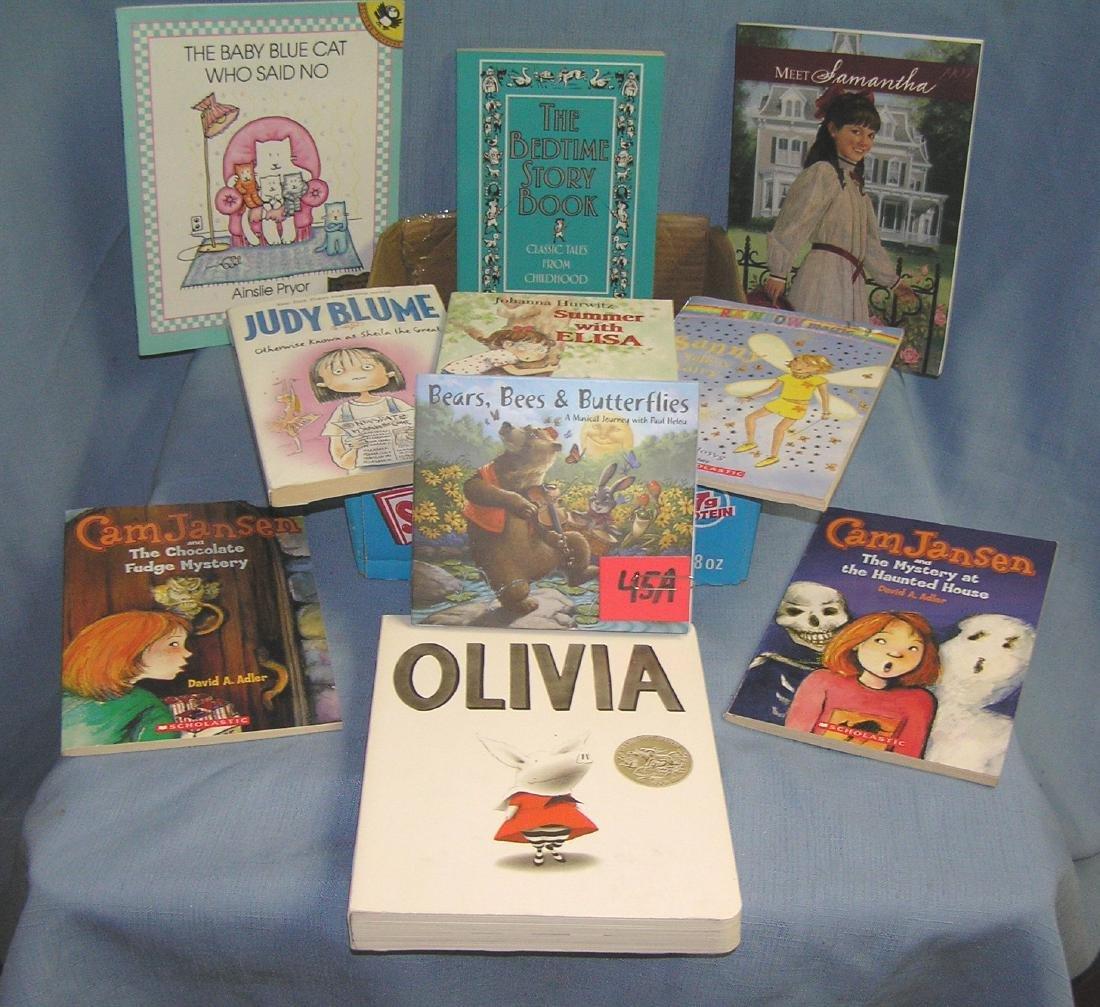 Box full of vintage children's books