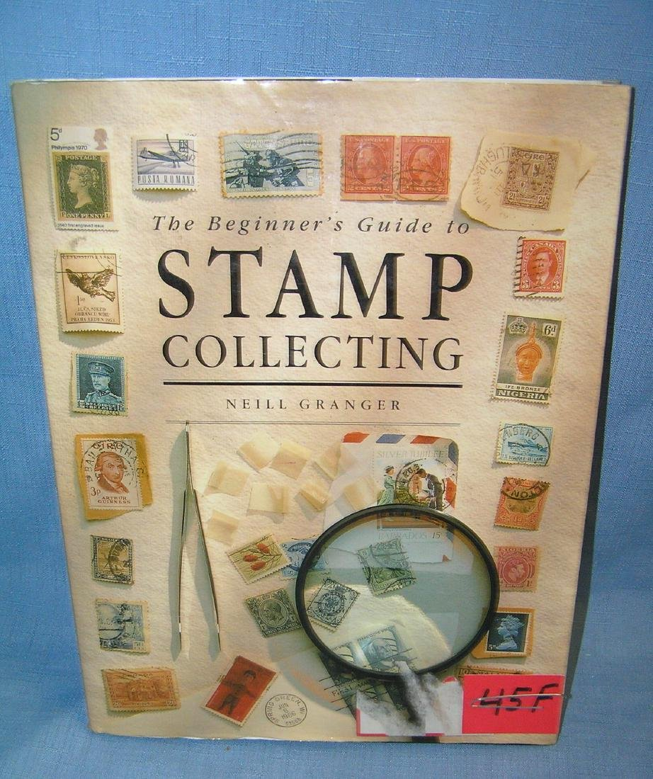 Stamp collecting book and guide