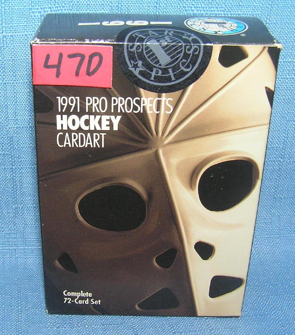 1991 prospects hockey card set mint and factory sealed