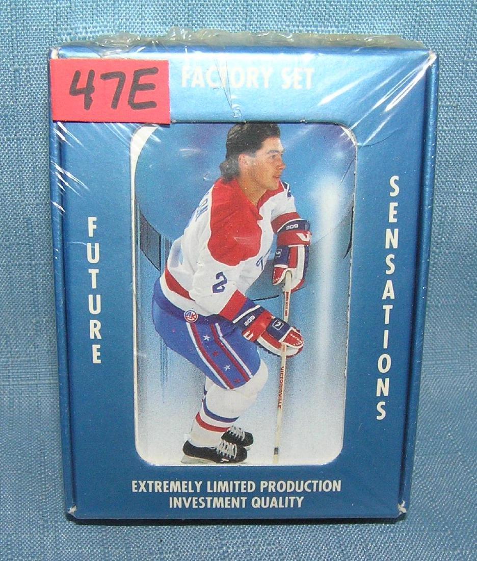 Factory sealed future sensations hockey card set