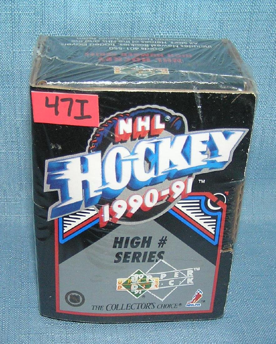 Upper Deck collector's choice NHL hockey factory sealed