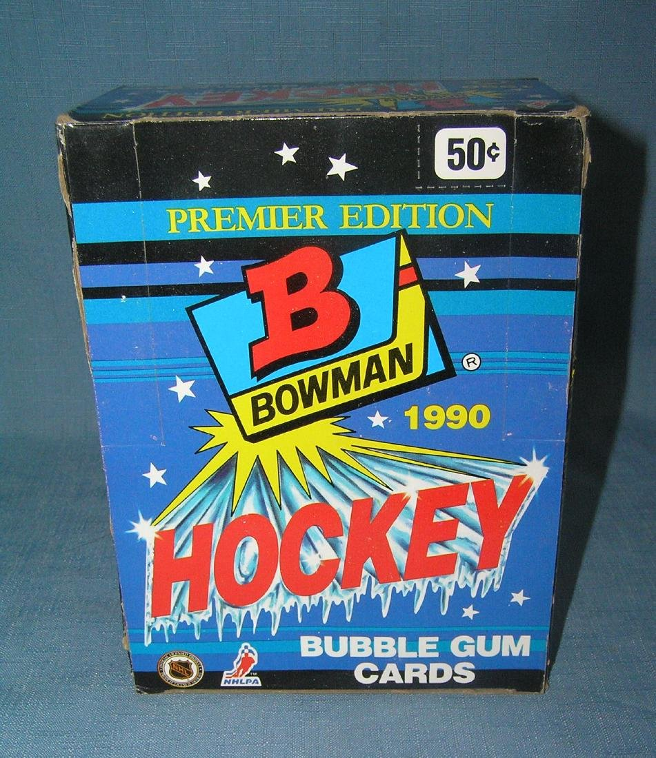 20 boxes of 1990 Bowman premier hockey cards - 3