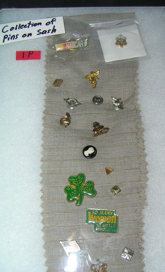 Collection of vintage pins