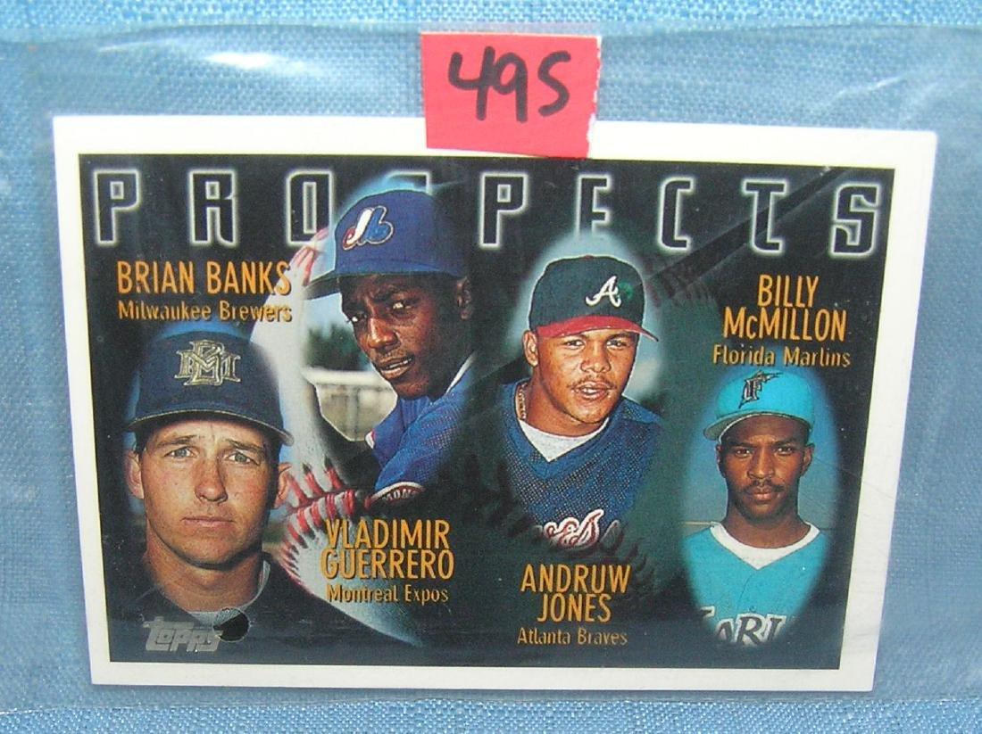 Andruw Jones rookie Baseball card