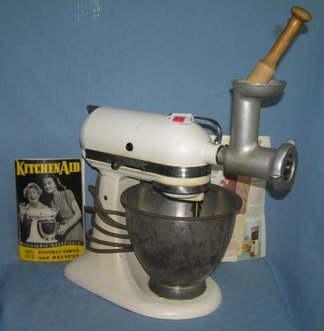 Vintage Kitchenaid electric food preparer/mixer