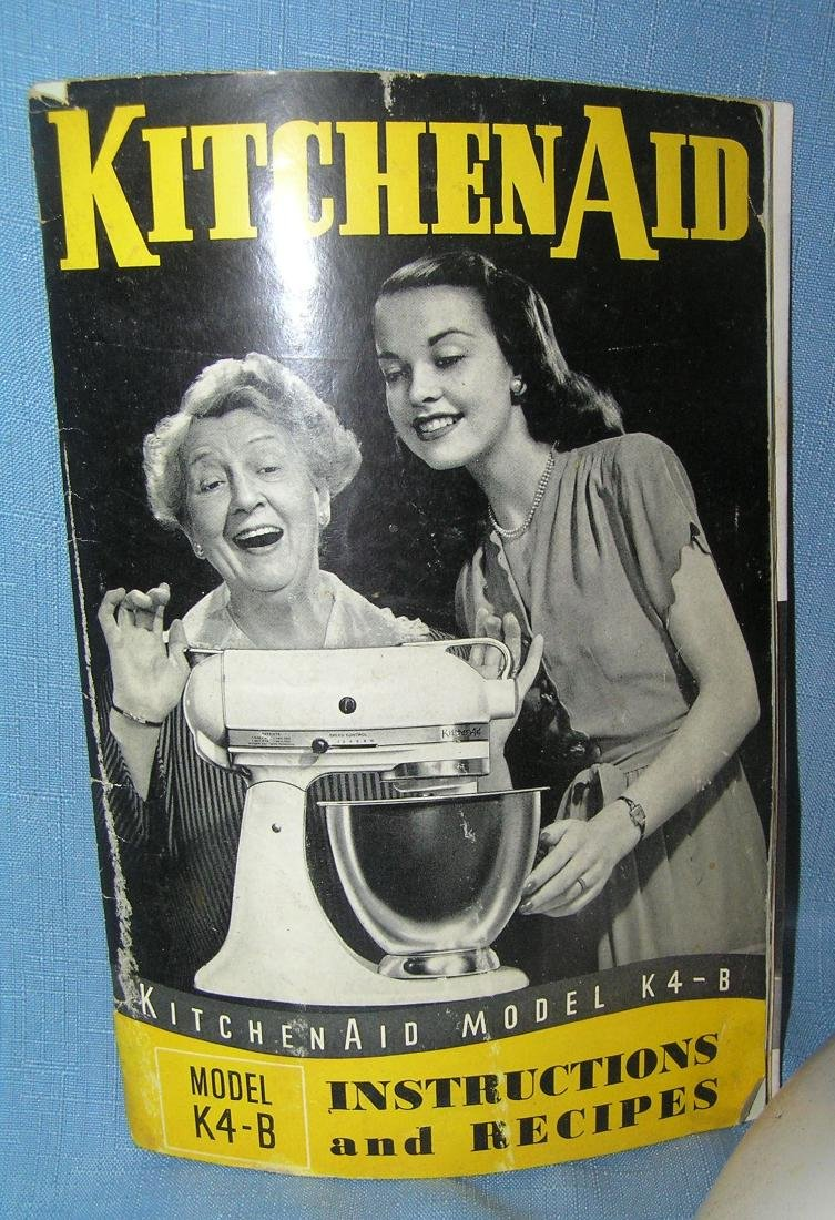 Vintage Kitchenaid electric food preparer/mixer - 3