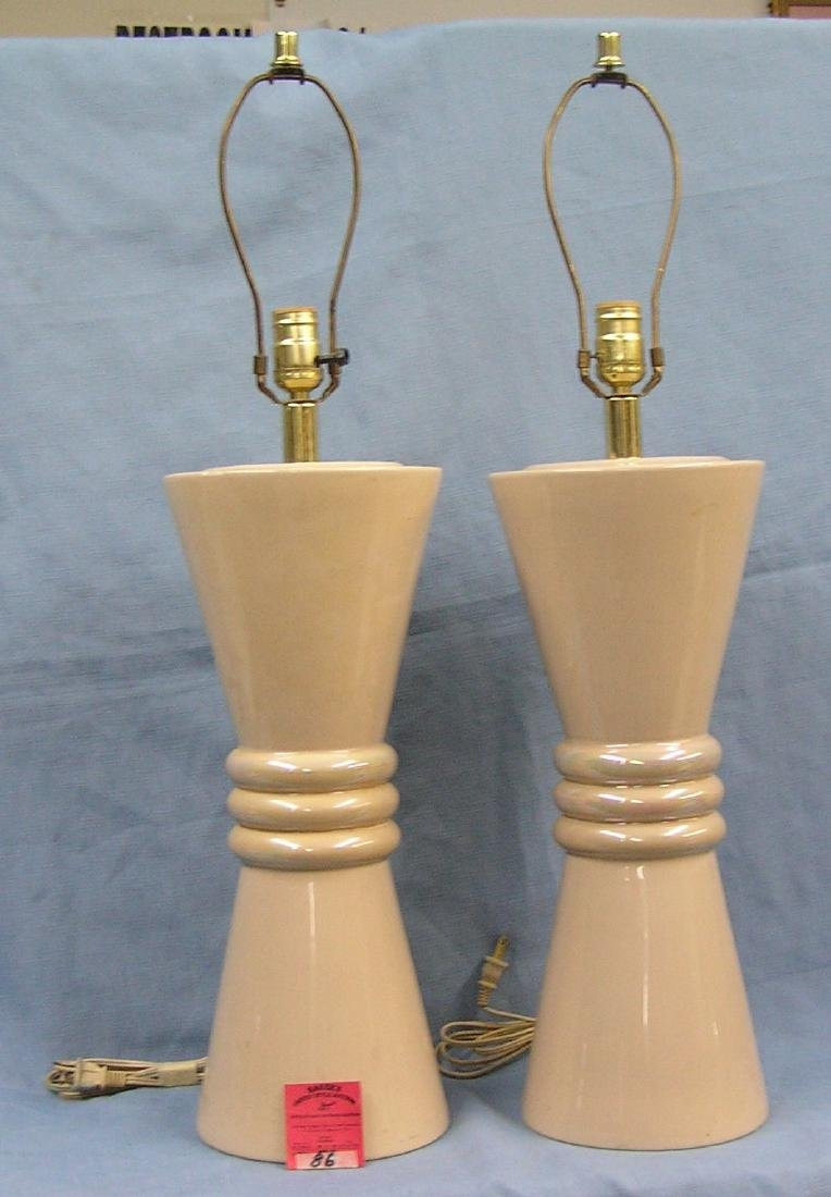 Pair of vintage table lamps