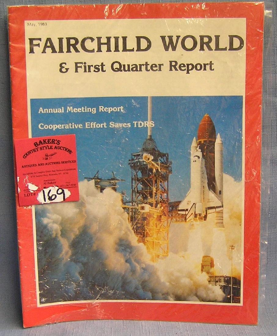 Vintage Fairchild aviation magazine
