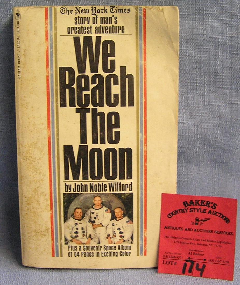 We Reach The Moon paperback book